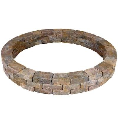 Rumblestone 79.5 in. x 10.5 in. Tree Ring Kit in Sierra Blend