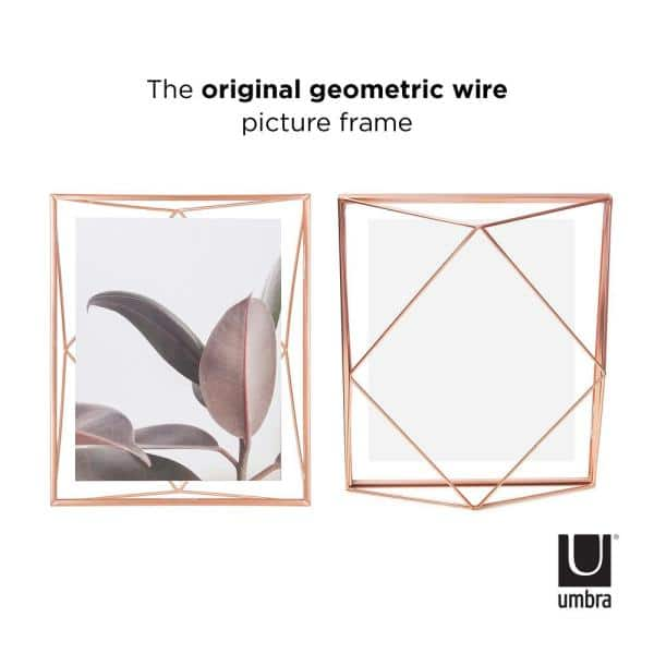 Umbra Prisma 8 In X 10 In Copper Picture Frame 313018 880 The Home Depot