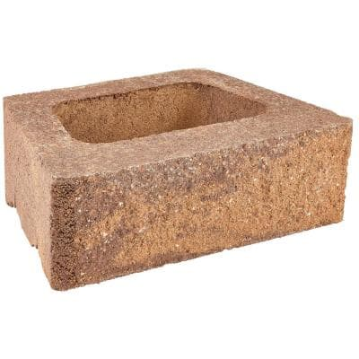 ProMuro 6 in. x 18 in. x 12 in. Prairie Brown Concrete Retaining Wall Block (40 Pcs. / 30 Face ft. / Pallet)
