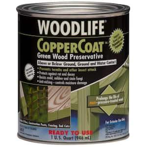 1 qt. CopperCoat Green Below Ground Wood Preservative (6-Pack)