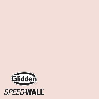 Speed-Wall 1 gal. PPG1064-2 Pink Chablis Flat Interior Latex Paint
