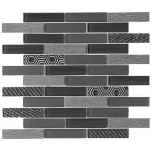 Volare Vento 11.73 in. x 11.73 in. x 7mm Glass Mesh-Mounted Mosaic Tile (0.96 sq. ft.)