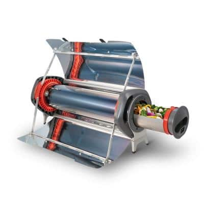 Fusion Solar and Battery Powered Oven - Fuel Free Hybrid Outdoor Grill