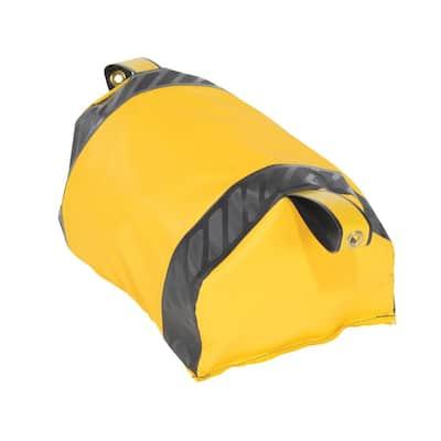 Dock Seal Draft Blocker 18 in. W Yellow
