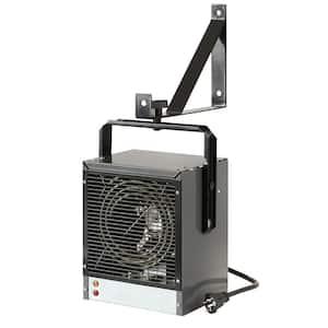 4,000-Watt Garage/Workshop Heater in Grey 240-Volt with Mounting Bracket and Built-In Thermostat