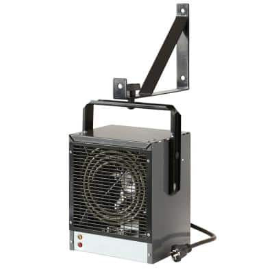 PROWARM Electrical Forced Air Industrial Fan Heater Shop Garage Heater Remote Control and Bracket 240V,2400W//4800W