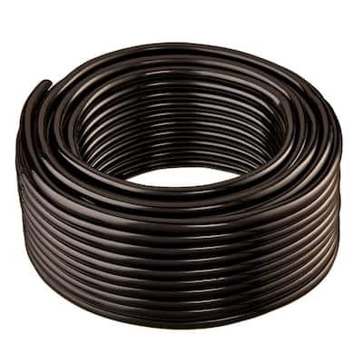 1/2 in. I.D. x 3/4 in. O.D. x 100 ft. Black Flexible Non-Toxic, BPA Free Vinyl Tubing