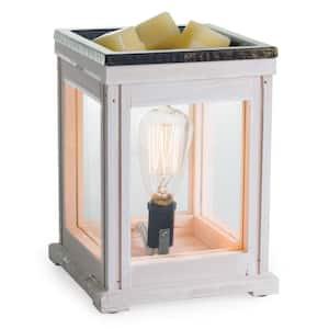 Weathered Wood Edison Bulb Illumination