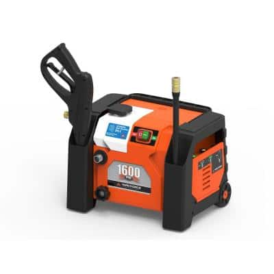 1600 PSI 1.2 GPM Electric Pressure Washer with All-in-One Storage and Turbo Nozzle