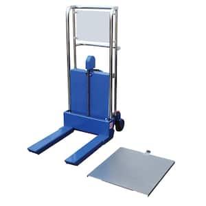 55 in. x 36 in. x 23 in. Foot Pump Steel Hefti-Lift
