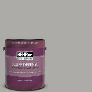 1 gal. #PPU18-14 Cathedral Gray Extra Durable Eggshell Enamel Interior Paint & Primer