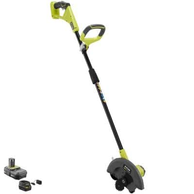 ONE+ 18V 9 in. Cordless Battery Edger with 2.0 Ah Battery and Charger