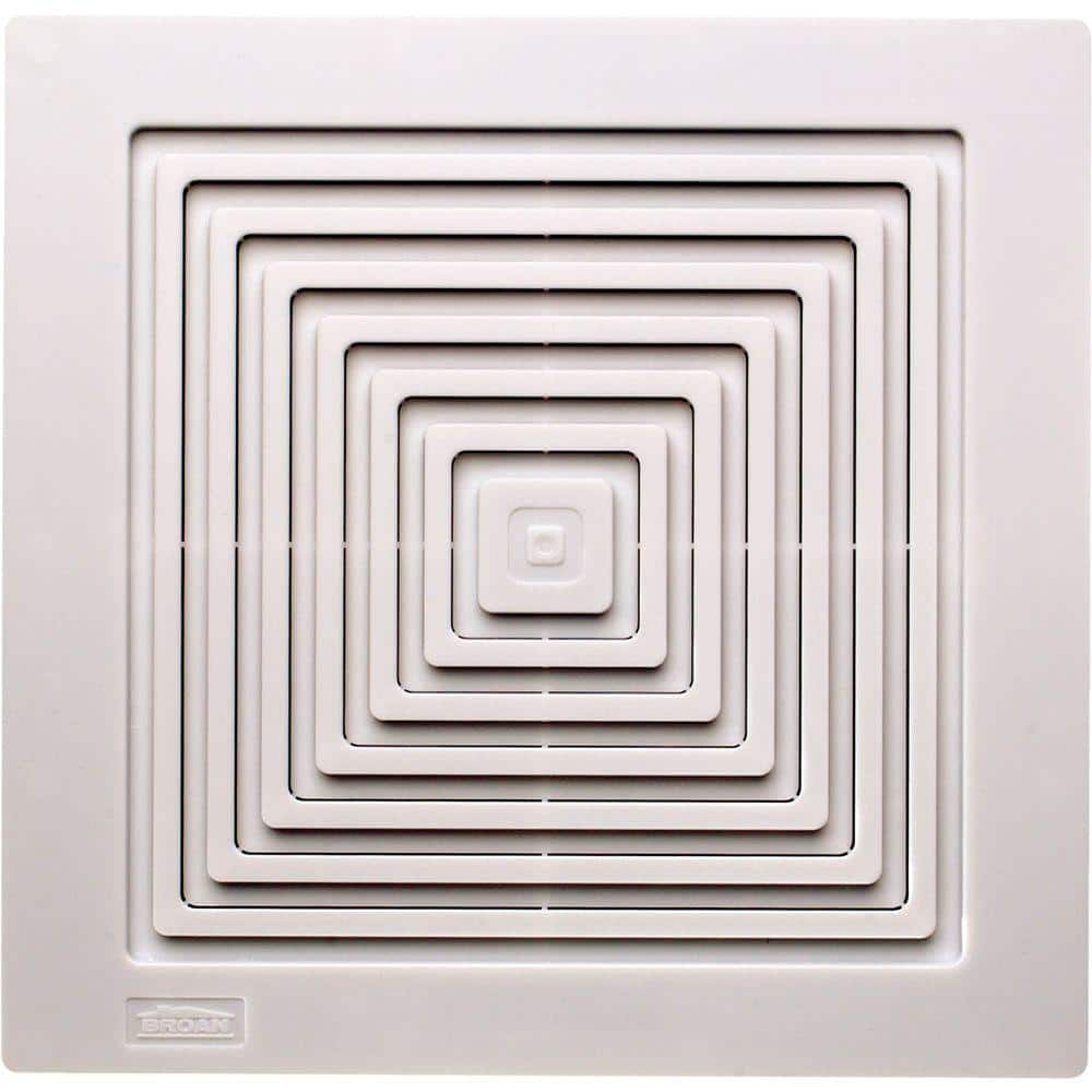 Broan Nutone Replacement Grille For 688 Bathroom Exhaust Fan Bp90 The Home Depot