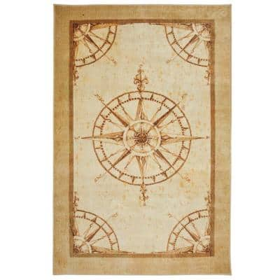 Coast To Coast Sand 5 ft. x 8 ft. Indoor Area Rug