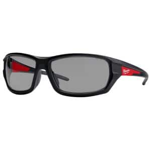 Performance Safety Glasses with Gray Fog-Free Lenses