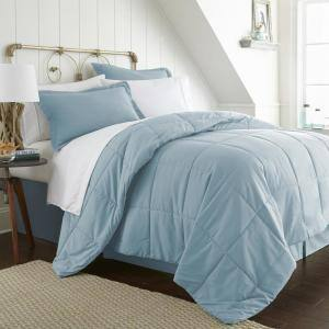 Performance 6-Piece Aqua Twin Comforter Set