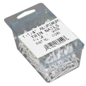 1.25 in. White Trim Nail (1/4 lb Pack)