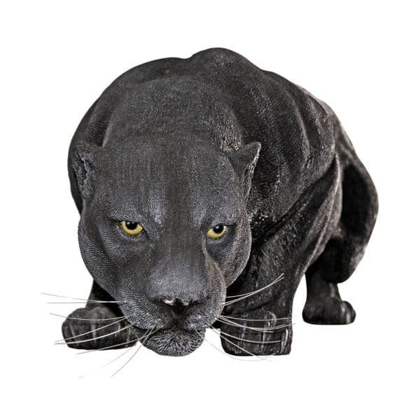 Reviews For Design Toscano 16 In H Grand Black Panther Garden Statue Ne90011 The Home Depot