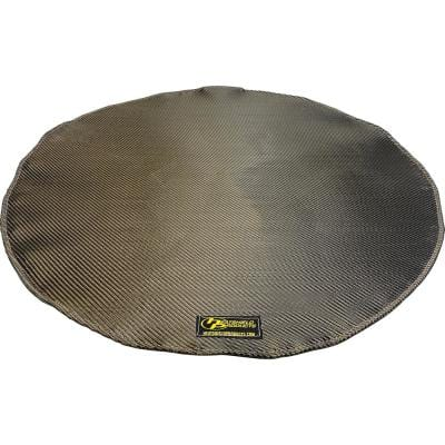 Deck Armor Fire Pit and Deck Heat Shield Round 24 in. Dia Withstands 1200°F Constant
