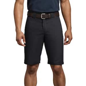 Men's Black FLEX 11'' Regular Fit Work Short