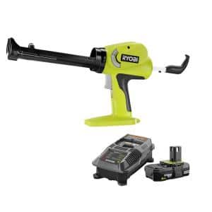 18-Volt ONE+ Power Caulk and Adhesive Gun with 2.0 Ah Battery and Charger Kit