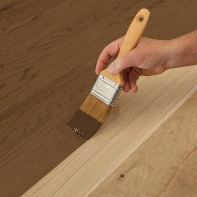 1 qt. #TIS-502 Dark Walnut Transparent Water-Based Fast Drying Interior Wood Stain