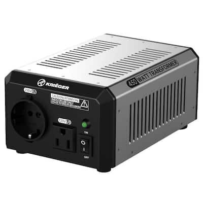 450-Watt Step Up/Down Voltage Transformer