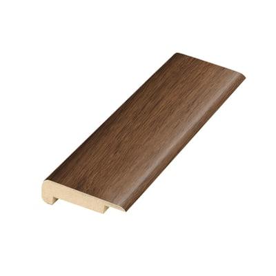 Auburn Scraped Oak .75 in. Thick x 2.36 in. Wide x 78.7 in. Length Laminate Stairnose Molding