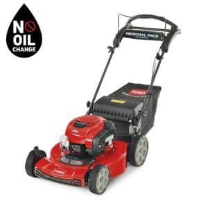 Recycler 22 in. Briggs And Stratton Personal Pace Rear Wheel Drive Walk Behind Gas Self Propelled Lawn Mower with Bagger