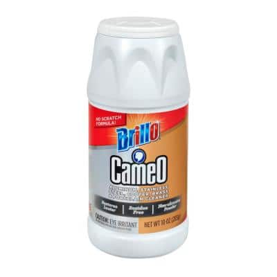 10 oz. Cameo Aluminum Stainless Steel Copper Brass and Porcelain Cleaner (Case of 12)