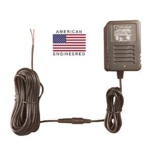 24-Volt Professional Grade Short Protected Power Supply - Designed for Smart Thermostats and Sprinkler Systems
