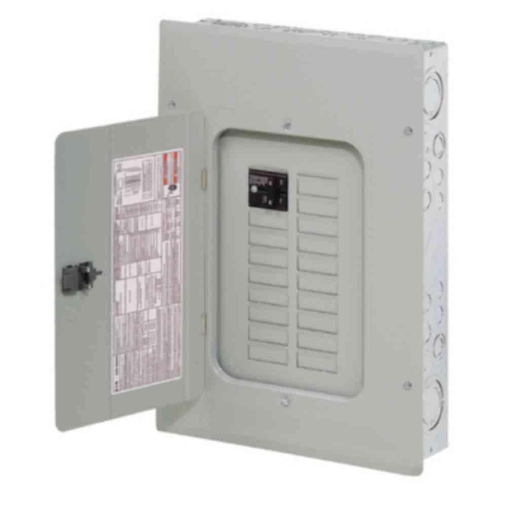 Eaton BR 100 Amp 16 Space 24 Circuit Indoor Main Breaker Loadcenter with  Cover-BR1624B100 - The Home DepotThe Home Depot