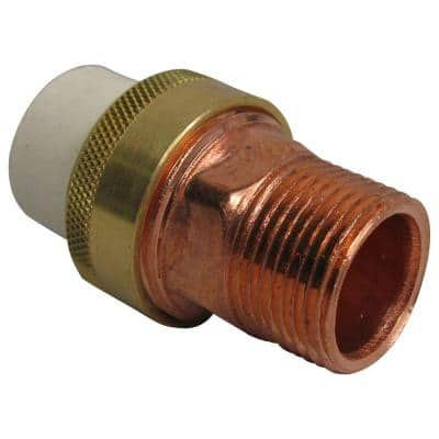 3/4 in. CPVC-CTS and Copper Slip x MIPT Transition Union
