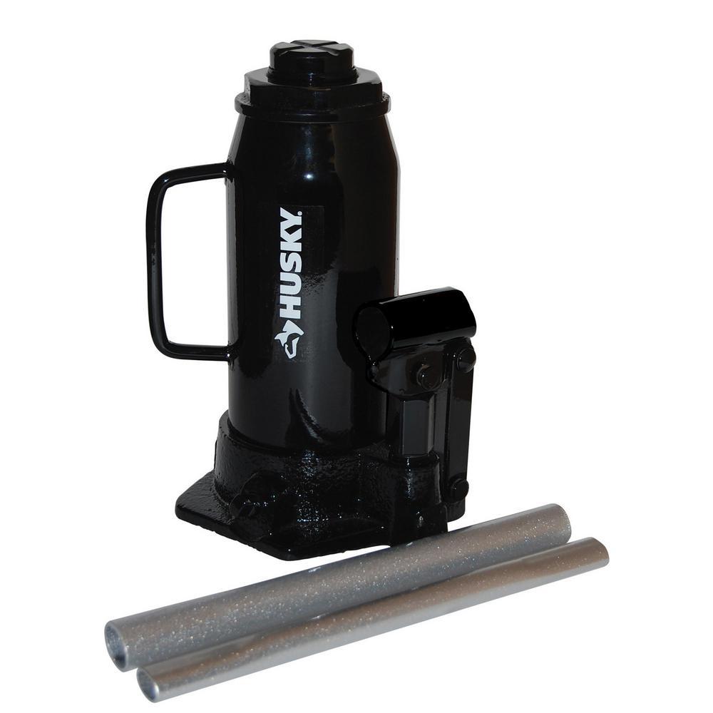 12-Ton Hydraulic Bottle Jack
