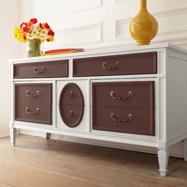 Behr 1 Qt N170 7 Baronial Brown, How To Paint Furniture Dark Brown