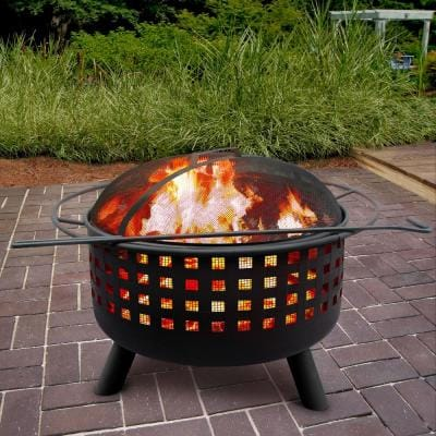 Landmann Fire Pits Outdoor Heating The Home Depot