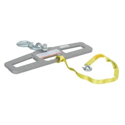6,000 lb. Capacity Swivel Lift Master Hook Plate