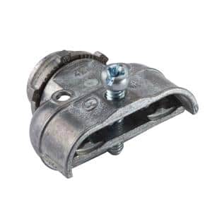 3/8 in. Flexible Metal Conduit (FMC) Duplex Connectors (2-Pack)