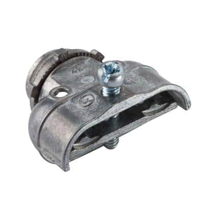 3/8 in. Flexible Metal Conduit (FMC) Duplex Connectors (2-Pack)