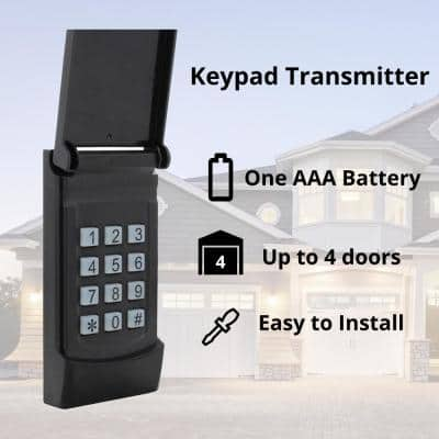 1 HPF Heavy Duty Belt Drive Smart Garage Door Opener (Wi-Fi) with Extremely Quiet DC Motor and Dual LED