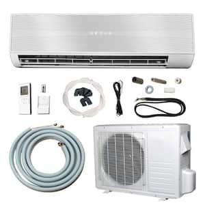 12,000 BTU (1 Ton) Ductless Mini Split Air Conditioner with Heat Pump - 110V/60Hz