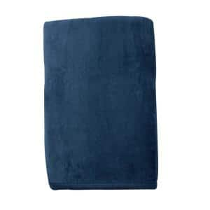 The Company Store Cotton Fleece Suede Queen Woven Blanket Ko18 Q Suede The Home Depot