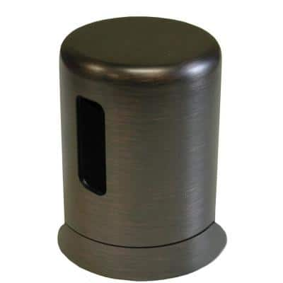 2 in. O.D. x 2-3/4 in. Height Plastic Kitchen Air Gap Cap in Old World Bronze