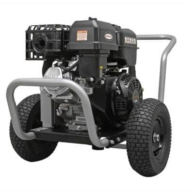Water Blaster WB60824 4400 PSI at 4.0 GPM 420 Belt Drive Cold Water Pressure Washer