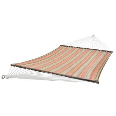 12 ft. Sunbrella Quilted Outdoor Reversible Double Hammock Bed in Cameo