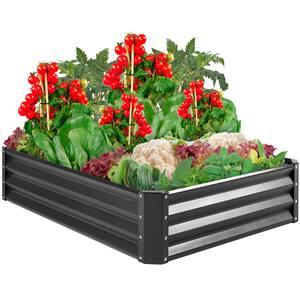 4 ft. x 3 ft. Metal Raised Garden Bed