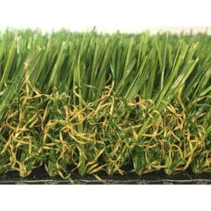 GREENLINE 3D-W Pro 80 Fescue 15 ft. Wide x Cut to Length Artificial Grass