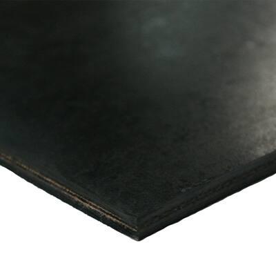 Heavy Black Conveyor Belt - 0.41 (3 ply) Thick x 6 in. Width x 12 ft. Length - Rubber Sheet