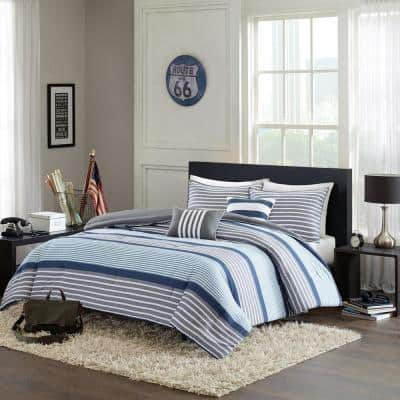 Matteo Striped Comforter Set