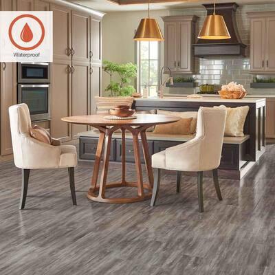 Outlast+ 5.23 in. W Seabrook Walnut Waterproof Laminate Wood Flooring (769.44 sq. ft./pallet)